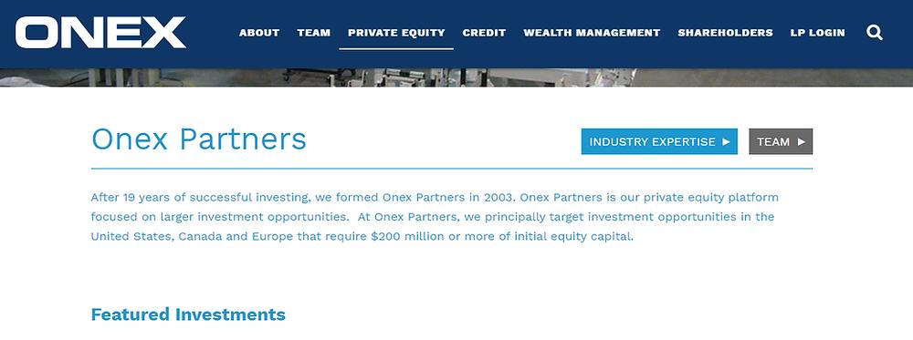 ONEX Investment Mandate
