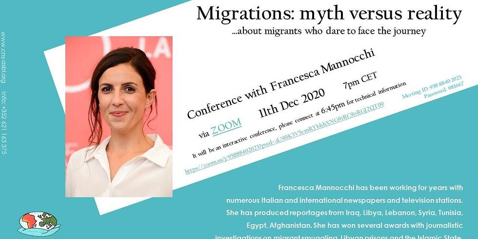 Conference with Francesca Mannocchi