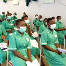Nurses & Midwifes at Matany Hospital