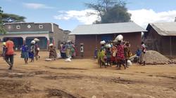 Femmes au marché local
