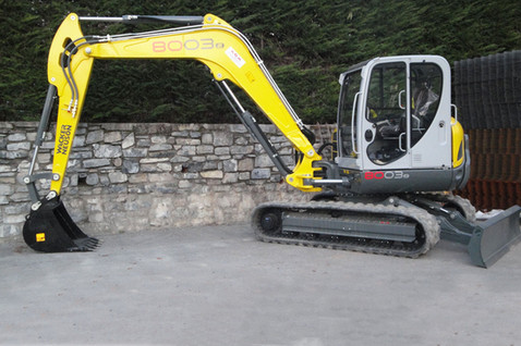 N° 206 - Escavatore NEUSON Mod. 8003 braccio lungo