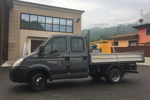 N° 188 - Autocarro IVECO DAILY 35C15 6+1