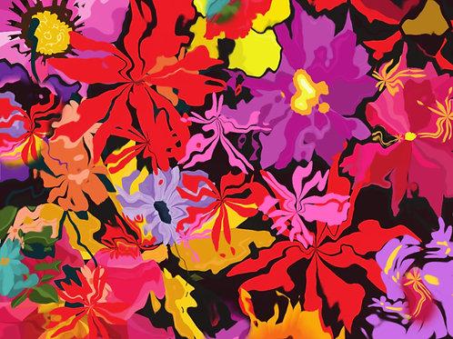 """Floral Waves"""