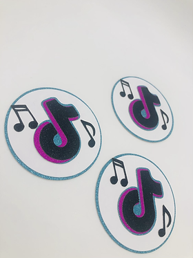 Tiktok mini cupcake disks