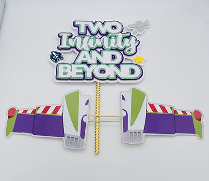 Toy Story - Two Infinity Cake Topper with wings