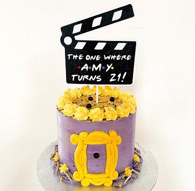 Friends inspired cake topper