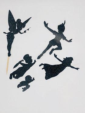 Peter Pan silhouette set!