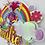 Thumbnail: Pink Trolls Rainbow Cake Topper
