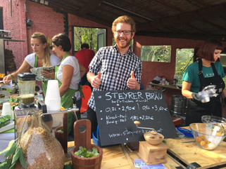 Tolle Stimmung auf der Mini Maker Faire in Steyr!
