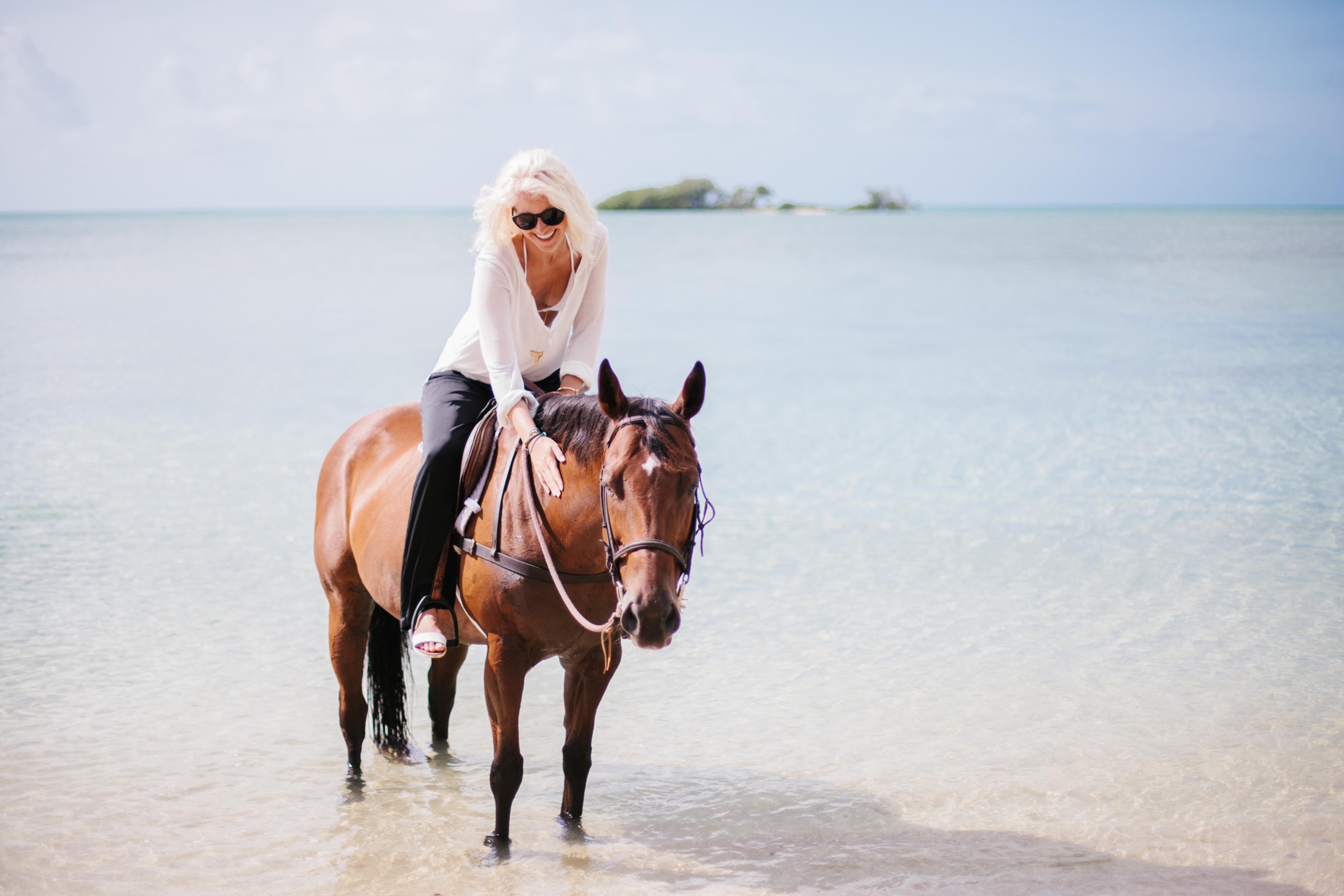 Horse Beach Riding