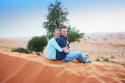 Enjoy horse desert safari