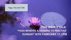 Yoga; Benefits & Reasons to practice