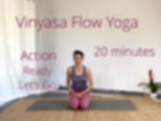 Vinyasa Flow in 20 Mins