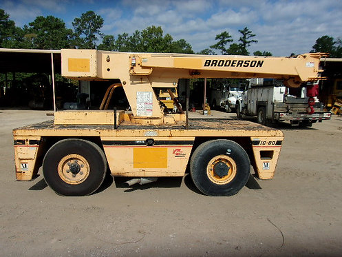 #12456 2009 Broderson IC80-2H