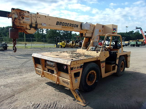 #12450 2009 Broderson IC80-2H