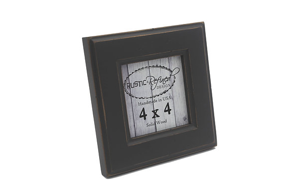 4x4 Moab picture frame - Charcoal