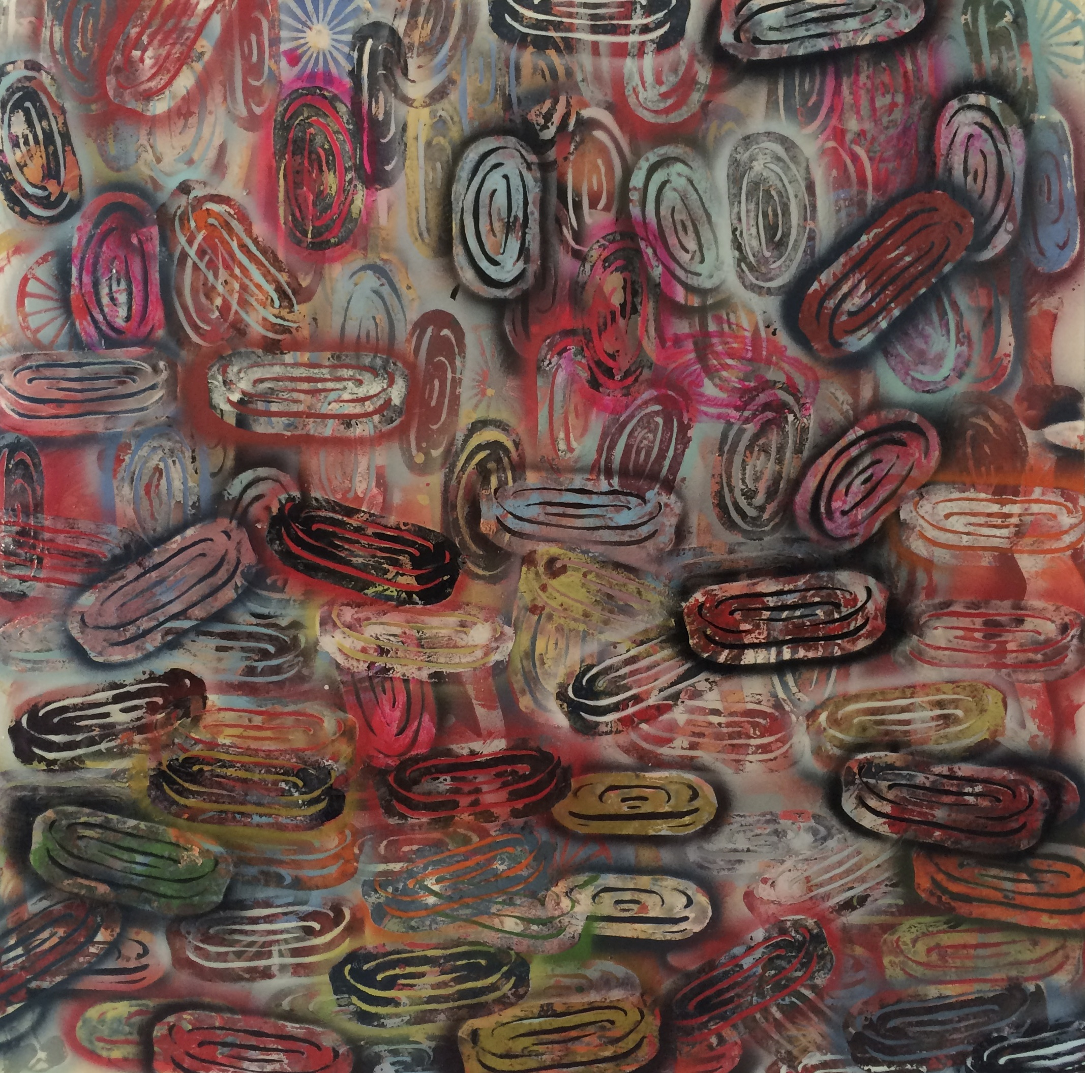 Guston's Wheel 2, 2015