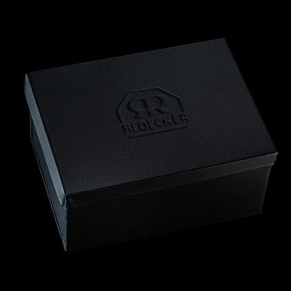 Seifenkästchen Metall schwarz eckig groß