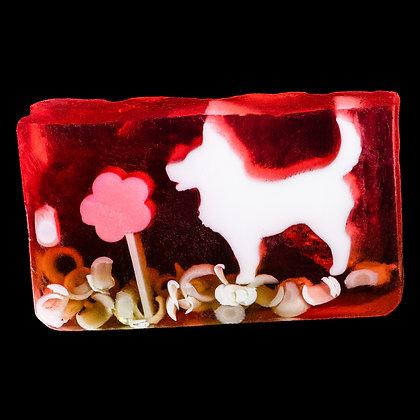 SOAP Flower Dog (6.95€/100g)