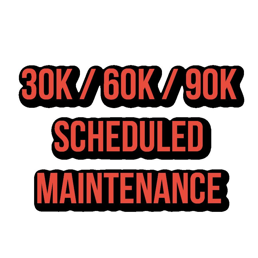 30 K Scheduled Maintenance
