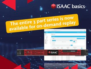 ISAAC Basics Webinar Series
