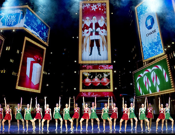 The Rockettes Dance in Times Square in 'New York at Christmas'