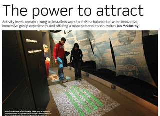 Smart Monkeys, Inc. featured in Installation International