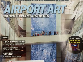 Airport art makes another cover
