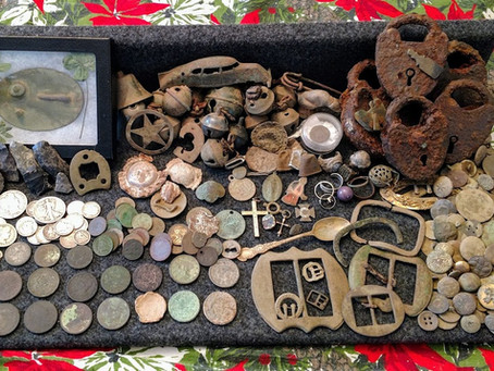 Where do all your detecting finds end up?
