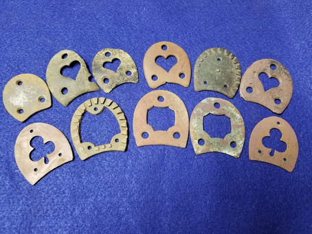 A Look at Decorative Heel Plates and their History