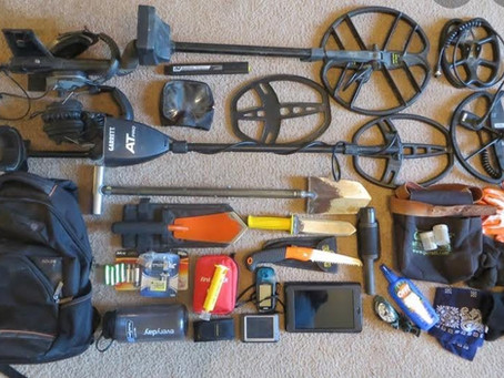 Gear You Should Bring With You When You Go Detecting