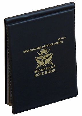 NZDF Notebook Cover