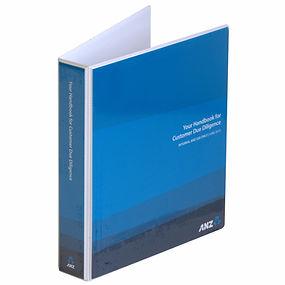 ANZ A4 Ringbinder Folder Wellington