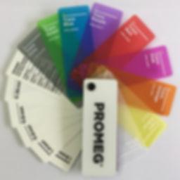 Polypropylene Colour Swatch