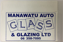 Manawatu Auto Glass Rego Pocket