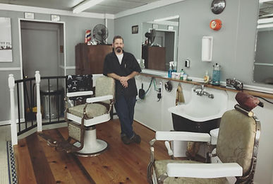 The head barber.