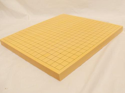 碁盤 新かや材(スプルス材)1寸(厚,約3cm)卓上盤