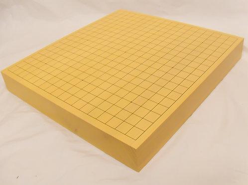 碁盤 新かや材(スプルス材)2寸(厚,6cm弱)卓上盤