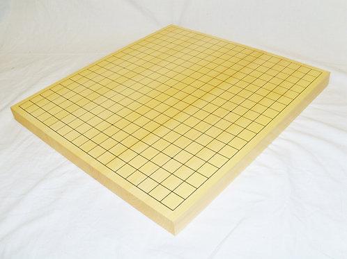 碁盤 国産本榧(かや)材1寸(厚,約3cm)卓上盤 (特上)
