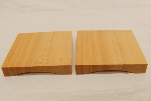 駒台 1寸卓上盤用 ひば材