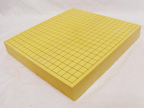 碁盤 国産本榧(かや)材2寸(厚 約6cm)卓上盤 (上)