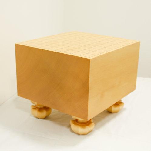 将棋盤 新かや材(スプルス材)7寸(盤厚 約20,6cm)足付盤