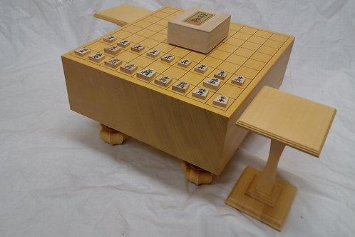 将棋盤 新かや材(スプルス)4寸セット