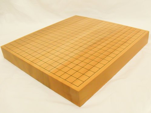 碁盤 台湾檜(ひのき)2寸(厚,6cm弱)卓上盤