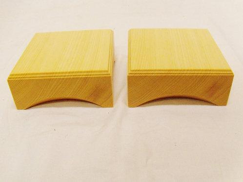 駒台 2寸卓上盤用 ひば材