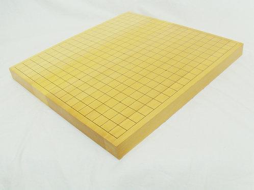 碁盤 国産本榧(かや)材1寸(厚,約3cm)卓上盤 上