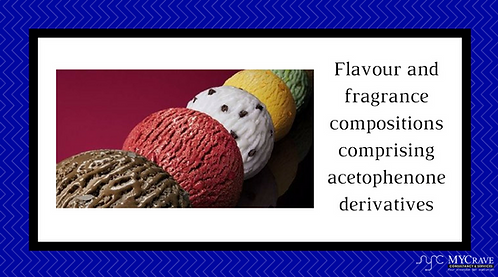 Flavour and fragrance compositions comprising acetophenone derivatives