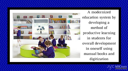 A modernized education system by developing a method of productive learning in s