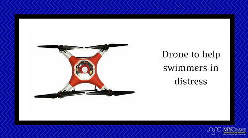 Drone To Help Swimmers In Distress