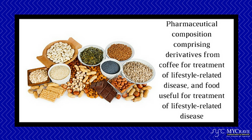 A Composition   Derived From Coffee For Treatment Of Lifestyle-Related Disease.